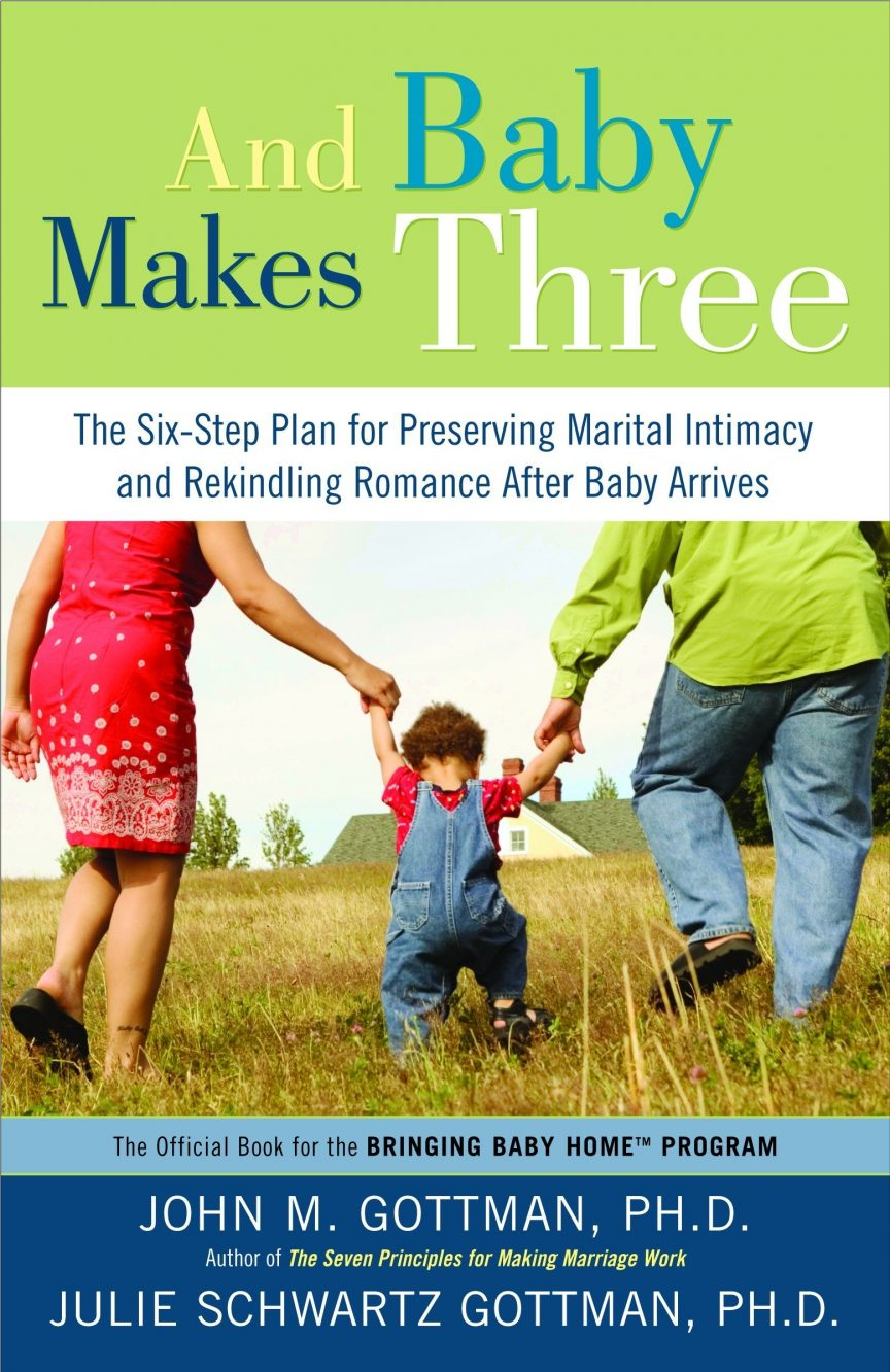 and the baby makes three book cover