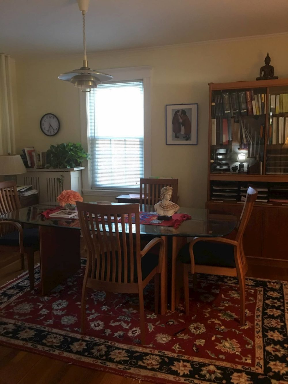 An Image of the mediation Room